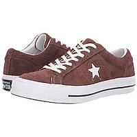 Кроссовки Converse One Star - Ox Chocolate/White/White - Оригинал