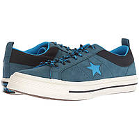 Кроссовки Converse One Star - Ox Blue Fir/Blue Hero/Black - Оригинал