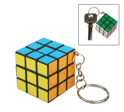 Брелок у вигляді Кубик-Рубика 3x3x3 SKU0000180