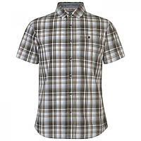 Рубашка SoulCal Checkered Wht/Bown/Grey - Оригинал