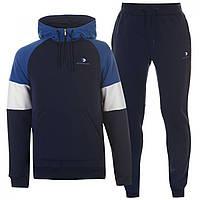 Спортивный костюм Donnay quarter Zip Navy/Royal - Оригинал