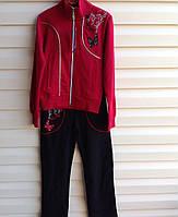 Спортивный костюм для девочек 158, 164 роста подростковый Красный