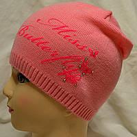Детская вязаная шапочка, фото 1
