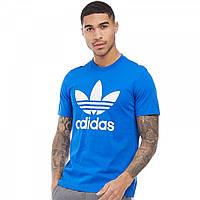 Футболка adidas Originals Original Trefoil Blue Royal Blue - Оригинал