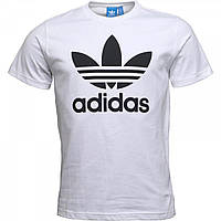 Футболка adidas Originals Trefoil White White - Оригинал