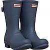 Ботинки Hunter Original Back Adjustable Short Wellington Gull Grey Slate Blue - Оригинал