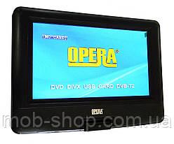 """Портативний переносний ДВД плеєр DVD Opera NS-1180 11"""" розважальний центр Т2 + ігри"""