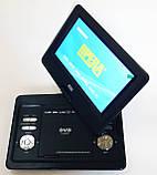 """Портативный переносной ДВД DVD плеер Opera NS-1180 11"""" Т2 USB игры, фото 2"""