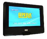 """Портативный переносной ДВД DVD плеер Opera NS-1180 11"""" Т2 USB игры, фото 3"""