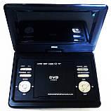 """Портативный переносной ДВД DVD плеер Opera NS-1180 11"""" Т2 USB игры, фото 6"""