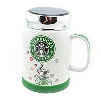 Керамическая чашка кружка Starbucks coffee, 500 мл