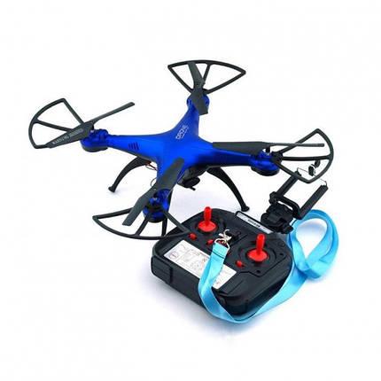 Квадрокоптер 1million c WiFi камерою Синій, фото 2