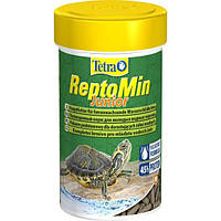 Корм для молодых водных черепах Tetra ReptoMin Junior 100 мл