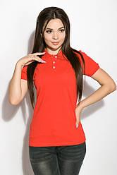 Поло женское AG-0010978 Красный XL