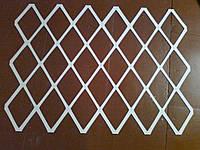 Пластиковый трафарет Ромб под штукатурку, жидкие обои Трафарет для покраски стен многоразовый