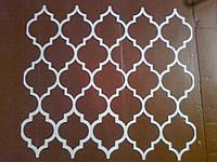 Трафарет для декора стен в стиле Марокко для покраски, жидких обоев, штукатурки из пластика многоразовый