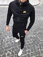 Теплый спортивный мужской костюм Nike с капюшоном