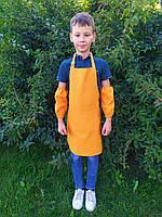 Фартук для уроков труда 11-16лет  (оранжевый)