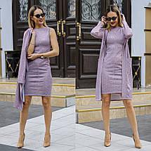 """Ангоровый женский костюм-двойка """"LEONA"""" с кардиганом (4 цвета), фото 3"""