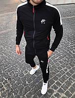 Утепленный спортивный мужской костюм Nike Air на молнии