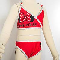 Купальник Минни Маус Disney (Arditex) красный WD12042 red 116-122