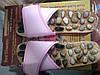 Тапочки массажные с натуральными камнями Penghang 37/38