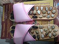 Тапочки массажные с натуральными камнями Penghang 37/38, фото 1