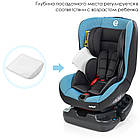 АВТОКРЕСЛО ME 1010 INFANT BLUE SHADOW, фото 3