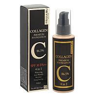 Тональный крем Privia U Collagen Premium Foundation 4 in 1, фото 1