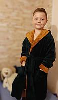 Халат махровый  банный  мягкий детский  для мальчика  2-4-6-8-10  лет,доставка по Украине Укрпочта,НП,Джастин