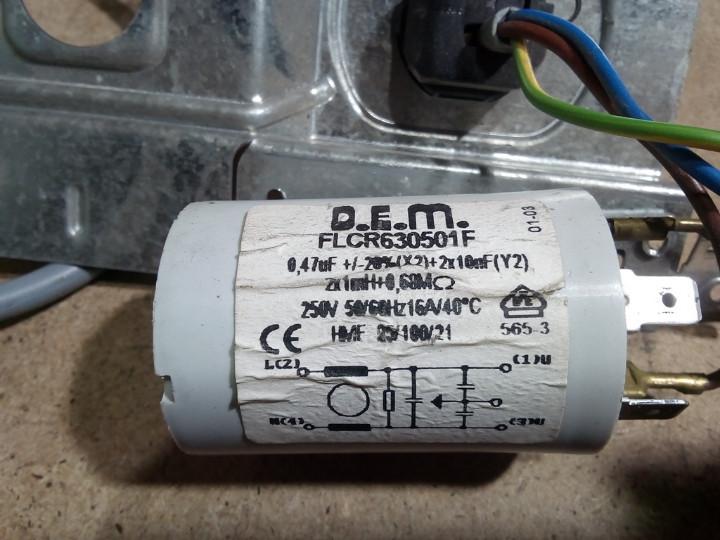 Сетевой фильтр  CANDY CTD1066. FLCR630501F  Б/У