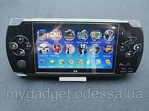 Игровая приставка PSP Х6 Черный Встроенно 9999 ИГР!!!