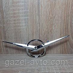 Эмблема решетки радиатора УАЗ 31512, 452, 469 метал (пр-во Ульяновск)