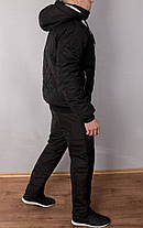 Зимний мужской костюм PHILIPP PLEIN на овчине, фото 2