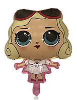 Шар фигура пленка Кукла Лол Мерилин Монро  / LOL (90см)