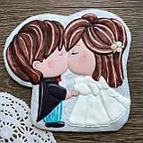 Трафарет+форма Жених  и невеста №2, фото 2