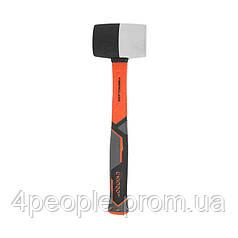 Киянка резиновая Dnipro-M ULTRA TPR 450 г черно-белая