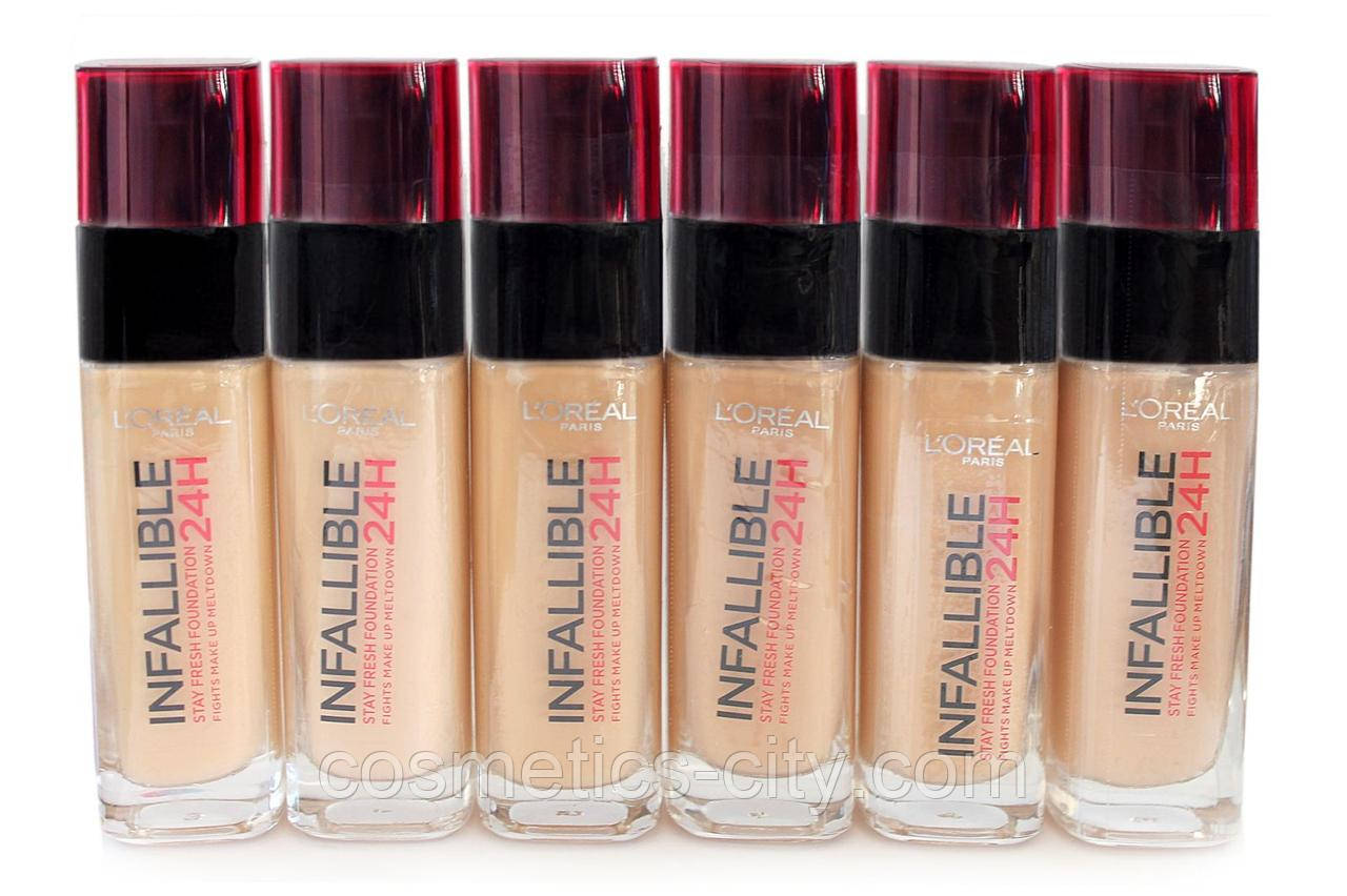 Тональный крем L'Oreal Paris Infallible 24h Stay Fresh Foundation