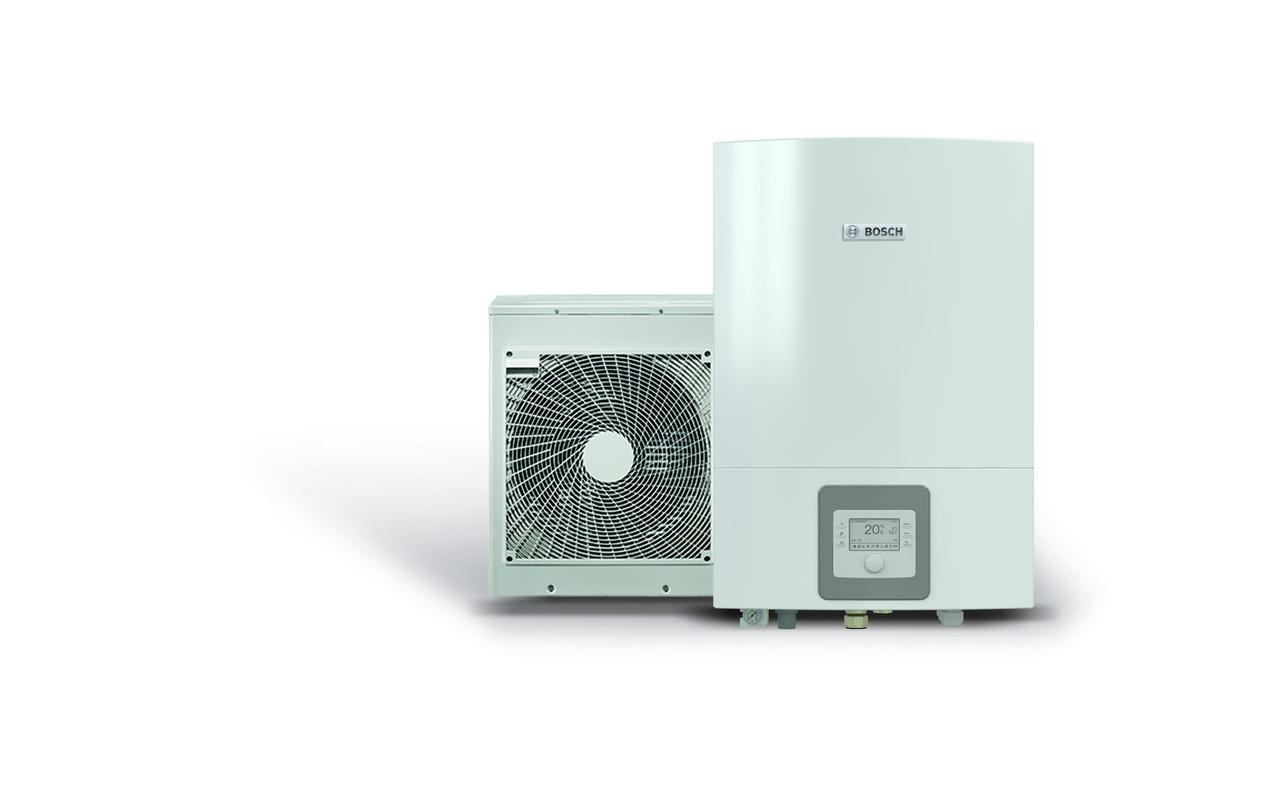 Воздушный тепловой насос воздух-вода BOSCH Compress 3000 AWS, 4 кВт