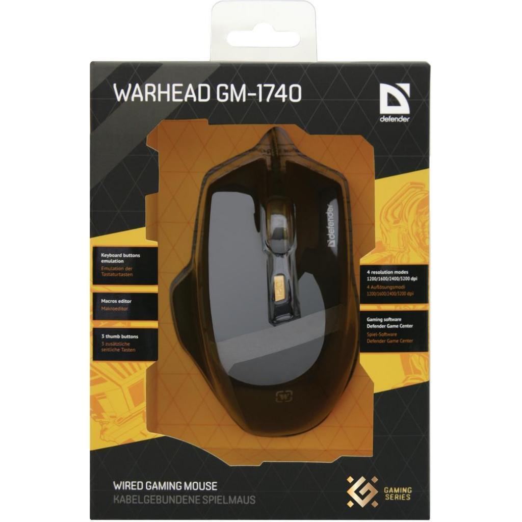 Мышь Defender Warhead GM-1740 .