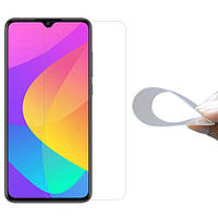 Гибкое защитное стекло 2.5D Nano (без упаковки) для Xiaomi Mi CC9 / Mi 9 Lite