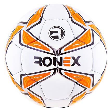 М'яч футбольний Grippy Ronex-MLT, помаранчевий. RX-MOL/1, фото 2