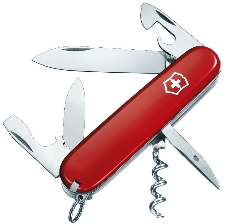 Швейцарский складной нож Victorinox Spartan красный