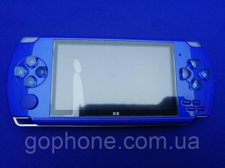 Игровая консоль Sony PSP X6 Blue 9999 ИГР!