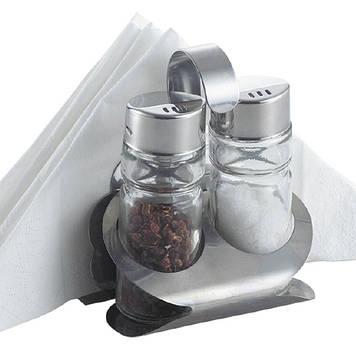 Набір для спецій Maestro MR-1611 B сіль+перець+салф