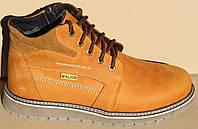 Ботинки зимние мужские кожаные от производителя модель ВОЛ48-1, фото 1