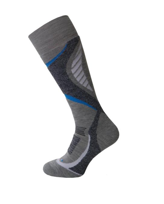 Спортивные лыжные носки Sesto Senso Extreme Ski Sport (original) с шерстью зимние теплые, термоноски