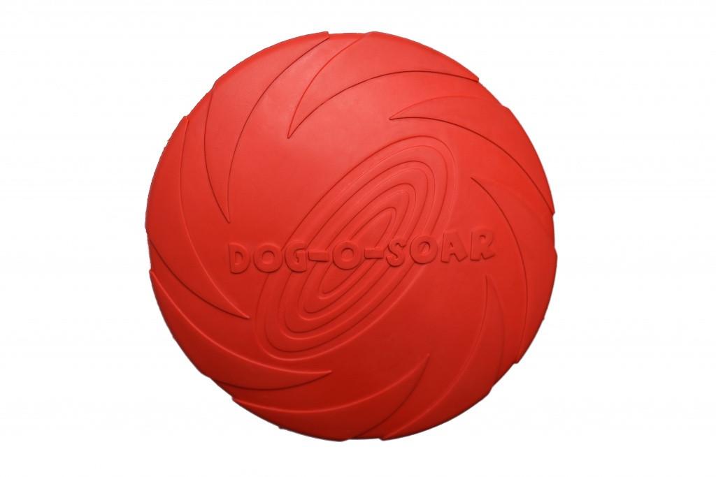 Игрушка для собак Диск резиновый Pet Nova 22 см Красный