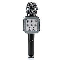 Микрофон-колонка bluetooth WS-1818 Black + Чехол, фото 3
