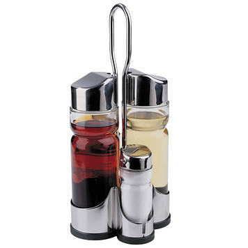 Набір для спецій Maestro MR-1610 D сіль+перець+масло+оцет